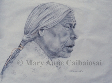 Wisdom Keeper, Pencil, SOLD