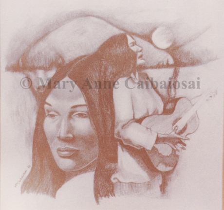 Now that the Buffalo Has Gone, Pencil, SOLD