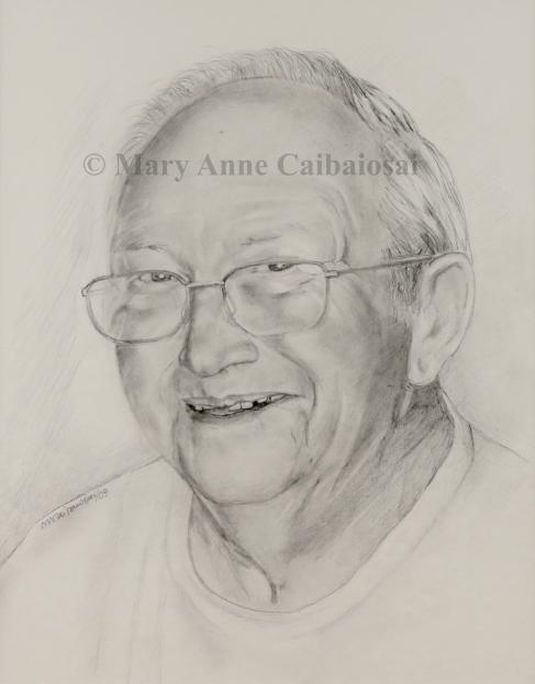 Portrait of Dwayne-SOLD